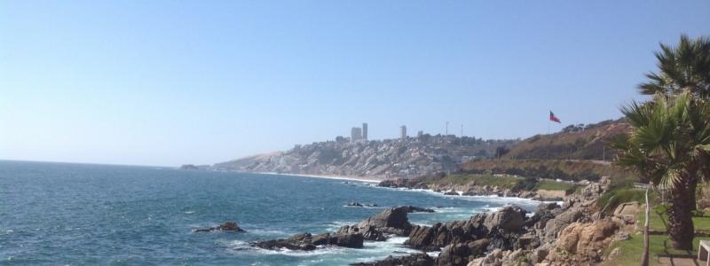 Viña del Mar sau cum îmi fac eu spațiu în Cile